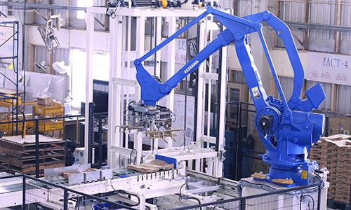 Robot Bag Palletizer System